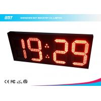 Quality Big 18 Inch Wireless Digital Clock Led Display Module By Remote Control for sale