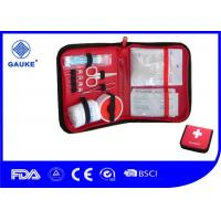 China Multi - Funtion Wilderness Survival First Aid Kit with 6 Inner Pouches on sale