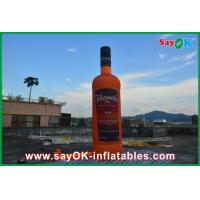 Quality Oxford Cloth Custom Inflatable Products , 5m Inflatable Wine Bottle for sale