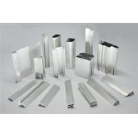 Quality Frosted Fabric Aluminum Window Profiles / Aluminum Glass Door Frame for sale