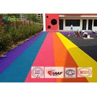 China SBR And Colored Epdm Rubber Granules Customized For Artificial Grass Filling on sale