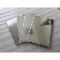 Quality Mirror Finish Stainless Steel Wall Panels Anti - Static With Fire Resistance for sale