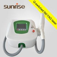 China Touch screen portable laser tattoo removal/ Q switched nd yag laser tattoo removal machine on sale