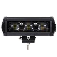 Quality 8D 8 Inch Waterproof SUV Led Light Bars With Bracket Led Driving Lamp 30W 2100LM for sale