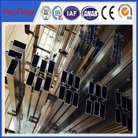 Buy ISO 9001 industrial aluminium profile for glass curtain wall price per kg at wholesale prices