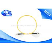 China Single Mode SC ST Patch Cord Simplex OM3 Fiber Optic Cable For Local Area Networks on sale