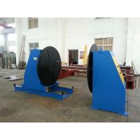 Quality Head Tail Tube Welding Positioner , Welding Turn Table For Flange Elbow Welding for sale