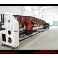 Quality Steel Plate / Carbon Sheet Edge Milling Machine for Box Beam Production Line for sale