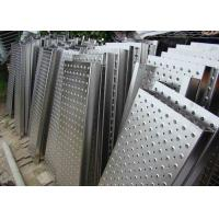 Steel Aluminum Perforated Metal Mesh Sheet 0 . 8mm - 2mm For Protection