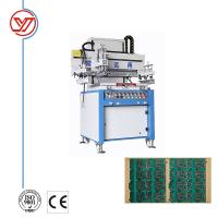 Quality CE Semi automatic Single Color Screen Printing Machine for PCB for sale