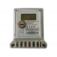 Quality Anti Tamper Digital Power Meter Two Phase Three Wires Electric Watt Hour Meter for sale