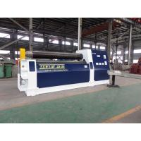 Quality Hydraulic 3 Roll Bending Machine , 25 - 30 mm Thickness Plate Rolling Machine for sale
