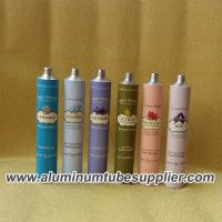 Quality 99.7% Pure Aluminum Thin Tube With Lid For Colorant Cream for sale