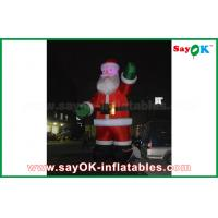 Quality Inflatable Inflatable Air Dancer Festeval Decoration Santa Claus Red Color For Event for sale