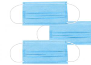 Quality In Stock Non Woven Meltblown Fabric Disposable 3 Ply Earloop Mask for sale