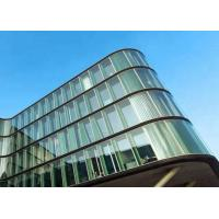Quality High Efficiency Low Emissivity Glass , Green Low E Glass For Buildings Windows for sale