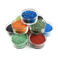 Quality Shock Resistant Recycled Rubber Pellets Colorful For Senior Citizen Activity Area for sale