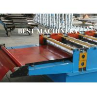 Buy Trapezoid Roof Tile Roll Forming Machine YX1100 Russian Type PPGI Material at wholesale prices