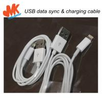 Buy 8 Pin Connector Micro Usb Car Chargers JMK-UC009 Lightning to USB Cable for iPhone 5 at wholesale prices
