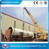11 kw Sawdust Rotating Drum Dryer Machine 12 m Length 2.2 m Width for sale