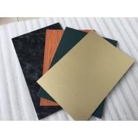 Buy Triple Coating Aluminum Composite Metal Panels With Paint Thickness 35um at wholesale prices