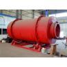 Quartz Sand Dryer Machine Gas Fired Rotary Sand Cement Dryer 12 Months Warranty for sale