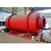 Rotary Sand Drying Equipment Shell Type For Drying Cement Sea Blast Sand for sale