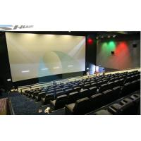 Quality 4D Movie Theater Equipments 7.1 audio system with curved / flat Screen for sale