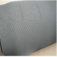 Quality White Neoprene Rubber Sheet , Breathable Oil Resistant Rubber for sale