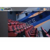 Buy Large Mobile 4D Movie Theater Equipment  , Motion Chairs With Comfortable Headrest And Cup Saucer at wholesale prices