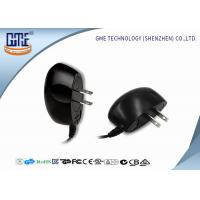 Quality Black 100-240v Ul Plug Wall Mount Power Adapter Ac Dc 3v 1a 4v 1.2a 5v 1a for sale