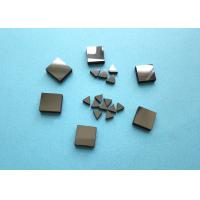 Diamond Tips PCD Blanks For Metal , Lathe Machine Smooth Surface PCD Die Blanks for sale