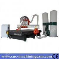 Quality ATC cnc router machine ,change 3 cutters freely ZK-1325(1300*2500*200mm) for sale