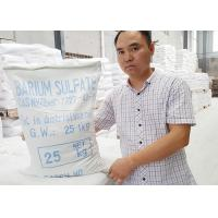 Quality CAS 7727-43-7 Barium Sulfate Paint , Barium Sulfate Coating Specific Gravity 4.2 for sale