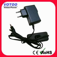Wall Plug AC DC Power Adapter 1A 110v - 220v Over Voltage Protection