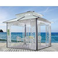 Quality China Cast aluminum outdoor sunshine pavilion metal pavilion garden Pavilion 1118 for sale