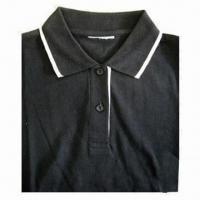 Quality Polo Shirt for Women, Made of 100% Cotton for sale