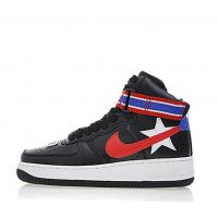 Quality Wholesale Cheap riccardo tisci x nike air force 1 high Black Sneakers for sale