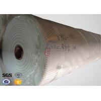 Quality 155 Width Glass Fiber Fireproof Fiberglass Fabric for Welding Blanket , Filter Bags for sale