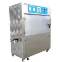 Programmable Rubber Aging UV Weathering Test Chamber , UV Light Testing Equipment