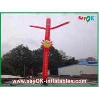 Quality Inflatable Air Dancer / Attractive Mini Inflatable Smile Air Tube Man For Wedding for sale