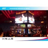 Quality P4mm Indoor full color Led Screen With 140 Degree Viewing Angle for convention center for sale