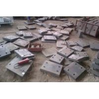 Quality High Cr  White Iron Castings wear resistant wear plates Hardness more than HRC58 for sale