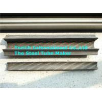 Quality Painted Rifle Seamless Carbon Steel Pipe With Fin On Two Sides for sale