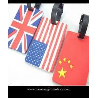 Quality Best Manufacturer Suppliers custom high quality cheap luggage tags for national flag for sale