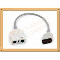 Quality GE Dual Medical Temperature Sensor For Patient 11 Pin Male Plug Connector for sale