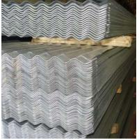 Buy SGCC,DX51D, ASTM Zinc Coated Corrugated Roofing Sheet With PE / PVDF / PVC Guard at wholesale prices
