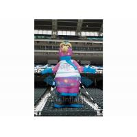 Standing Inflatable Cartoon Characters , Sport Colorful Giant Inflatable Replica