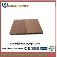China Easy installing outdoor China wood plastic composite decking/wood polymer composite decking d on sale