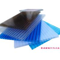 Quality OEM Fireproof Polycarbonate Hollow Sheet PC Sun Sheet For Roof Greenhouse for sale